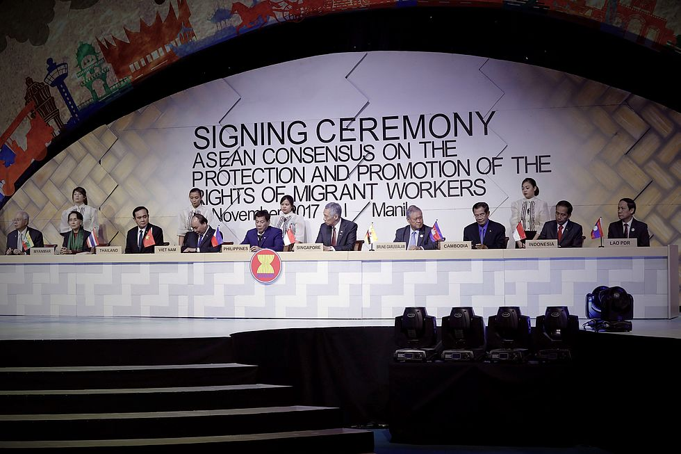 Asean Signs Breakthrough Agreement On Migrant Workers Rights