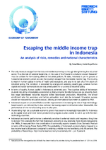 Escaping the middle income trap in Indonesia