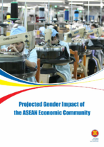Projected gender impact of the ASEAN Economic Community