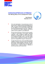 Institutional reforms in Pakistan