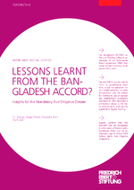 Lessons learnt from the Bangladesh ACCORD?